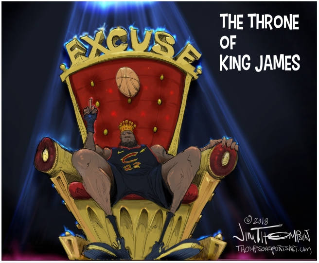 King James throne