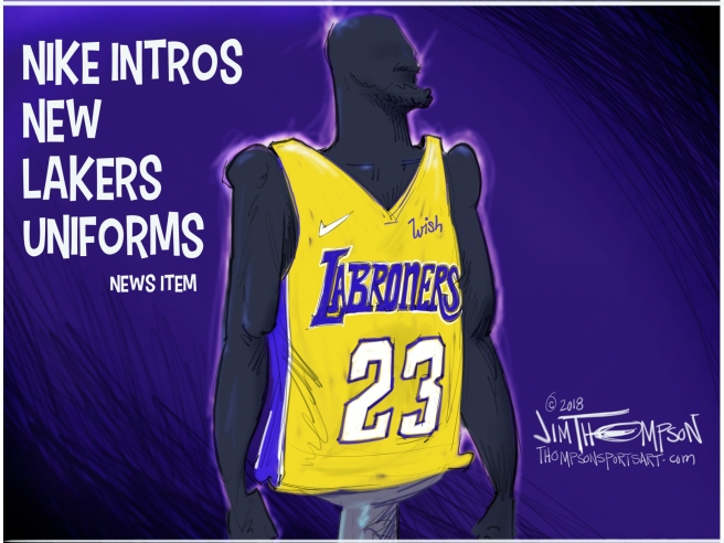 "quality design 3e096 10655 LeKers"" have new uniforms | thompsonsportsartdotcom"